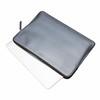 Embossed 13'' Laptop Sleeve Fits MacBook/Ultrabook 14-207-SIL