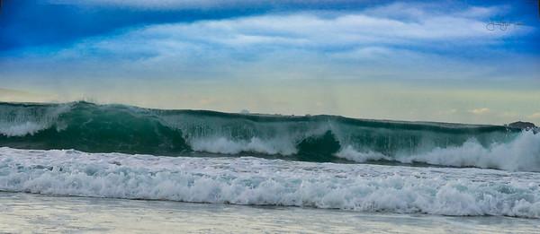 Beautiful moments at the Atlantic Ocean