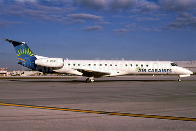 Air Caraibes (2nd) Embraer ERJ 145MP (EMB-145MP) F-OIJE (msn 145360) MIA (Bruce Drum). Image: 101994.
