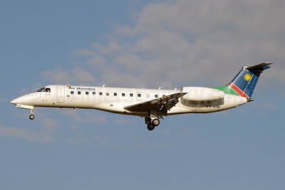 Air Namibia Embraer ERJ 135ER V5-ANI (msn 145252) JNB (Paul Denton). Image: 923011.