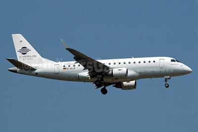 Cirrus Airlines-Lufthansa Embraer ERJ 170-100LR D-ALIA (msn 17000006) FRA (Nik French). Image: 900209.