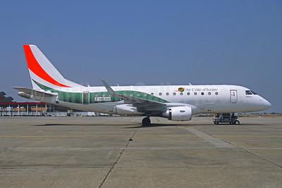 Air Côte d'Ivoire Embraer ERJ 170-100STD F-HBXH (msn 17000307) CKY (Jacques Guillem Collection). Image: 945973.