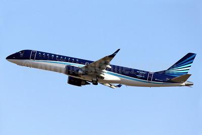 Azerbaijan Airlines Embraer ERJ 190-100 IGW 4K-AZ64 (msn 19000627) PMI (Javier Rodriguez). Image: 912809.