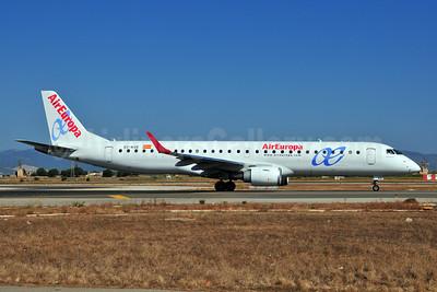 AirEuropa Embraer ERJ 190-200LR (ERJ 195) EC-KXD (msn 19000244) PMI (Ton Jochems). Image: 903449.