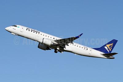 Air Astana Embraer ERJ 190-100LR P4-KCG (msn 19000543) SEN (Keith Burton). Image: 909634.