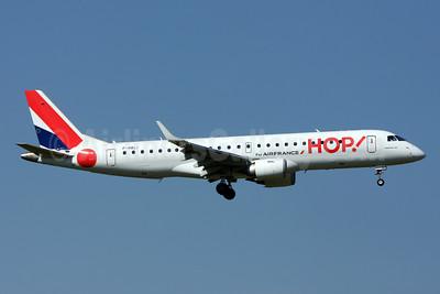 Hop! For Air France Embraer ERJ 190-100STD F-HBLI (msn 19000298) ZRH (Andi Hiltl). Image: 912904.