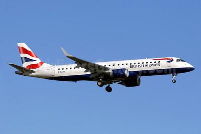 British Airways-BA CityFlyer Embraer ERJ 190-100SR G-LCYO (msn 19000430) PMI (Javier Rodriguez). Image: 912475.