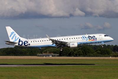 Flybe (British European 2nd) Embraer ERJ 190-200LR (ERJ 195) G-FBEB (msn 19000057) SOU (Antony J. Best). Image: 902097.