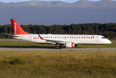 Baboo Airways (Flybaboo.com) Embraer ERJ 190-100LR HB-JQE (msn 19000163) GVA (Paul Denton). Image: 909873.