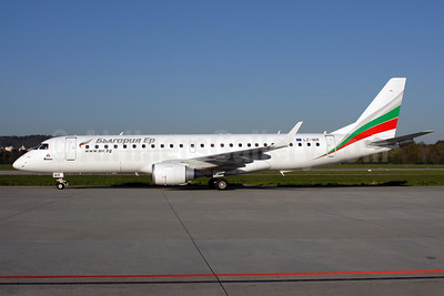 Bulgaria Air Embraer ERJ 190-100 IGW LZ-VAR (msn 19000496) ZRH (Rolf Wallner). Image: 908241.