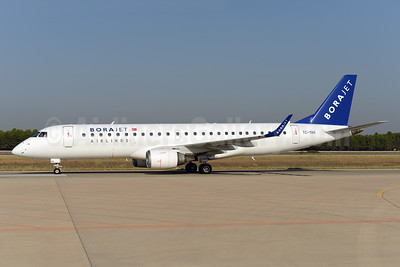 Borajet Airlines Embraer ERJ 190-100LR TC-YAH (msn 19000264) AYT (Ton Jochems). Image: 924399.