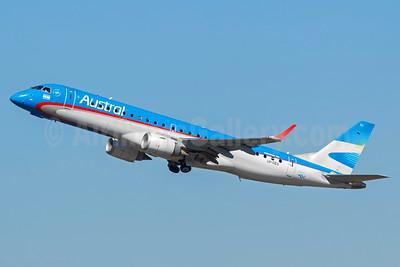 Austral Lineas Aereas Embraer ERJ 190-100 IGW LV-CEU (msn 19000389) GRU (Rodrigo Cozzato). Image: 920188.