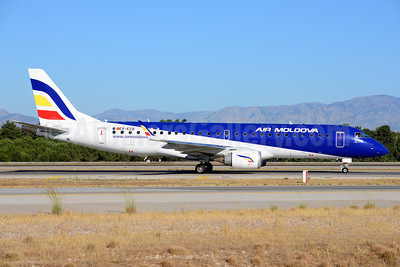 Air Moldova Embraer ERJ 190-100LR ER-ECB (msn 19000325) AYT (Ton Jochems). Image: 913710.