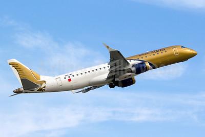 Gulf Air Embraer ERJ 190-100 IGW A9C-MD (msn 19000373) IST (Yuji Wang). Image: 910824.