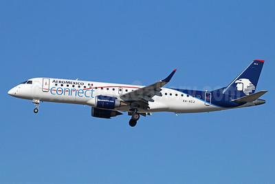 AeroMexico Connect Embraer ERJ 190-100LR XA-ACJ (msn 19000531) LAX (Michael B. Ing). Image: 922941.