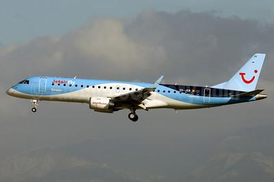 Jetairfly (TUI Airlines Belgium) Embraer ERJ 190-100STD OO-JEB (msn 19000607) PMI (Javier Rodriguez). Image: 911711.