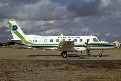 Air Great Lakes (Australia) Embraer EMB-110P1 Bandeirante VH-WDI (msn 110227) (Bruce Drum Collection). Image: 951108.