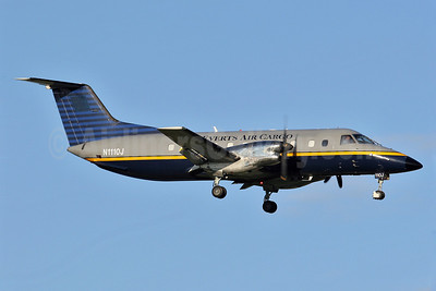 Everts Air Cargo Embraer EMB-120 (F) Brasilia N1110J (msn 120110) ANC (Keith Burton). Image: 900959.