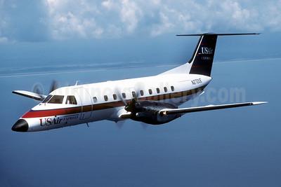 USAir Express-Florida Gulf Airlines Embraer EMB-120 Brasilia N272UE (msn 120045) JAX (Jay Selman). Image: 402569.