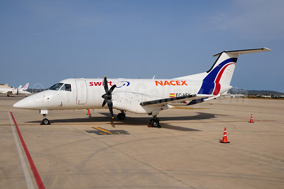 Swiftair (Spain)-NACEX Embraer EMB-120RT Brasilia EC-HFK (msn 120063) PMI (Ton Jochems). Image: 909213.