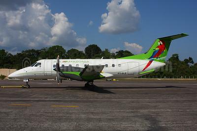 Air Amazonia Embraer EMB-120RT Brasilia PT-SLE (msn 120161) (Parrot) MAO (Marcelo F. De Biasi). Image: 908738.