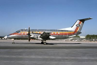Corporate Air (USA) Embraer EMB-120RT Brasilia N223AS (msn 12021) (ASA colors) MIA (Bruce Drum). Image: 105435.