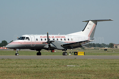 Atlantique Air Assistance-AAA Embraer EMB-120ER F-GTSH (msn 120104) BLQ (Marco Finelli). Image: 951073.