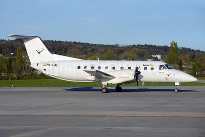 InterSky (Budapest Aircraft Service) Embraer EMB-120 Brasilia HA-FAL (msn 120176) ZRH (Rolf Wallner). Image: 922619.
