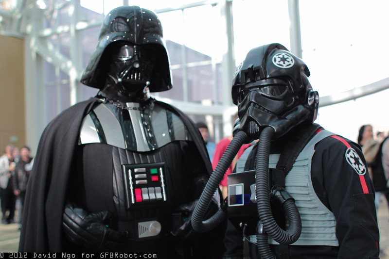 Darth Vader and TIE Pilot