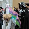 Princess Celestia and Darth Vader