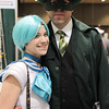 Sailor Mercury and Green Hornet