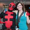 Deadpool and Lara Croft