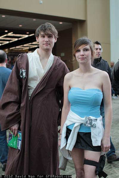 Anakin Skywalker and Jill Valentine