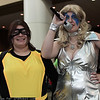 Shadowcat and Dazzler