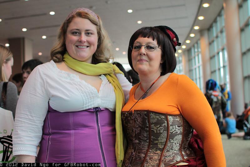 Daphne Blake and Velma Dinkley