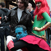 Wolverine, Nightcrawler, and Phoenix