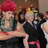 Akuma, Ken Masters, and Ryu
