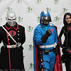 Destro, Cobra Commander, and Baroness