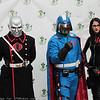 Destro, Cobra Commander, and Baroness