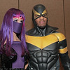 Purple Reign and Phoenix Jones