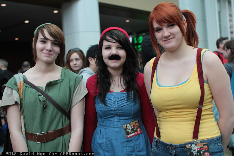 Link, Mario, and Misty