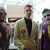 Scarecrow, Riddler, and Joker