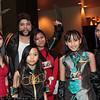 Elektra, Wolverine, Megurine Luka, Deadpool, Hatsune Miku, and Psylocke
