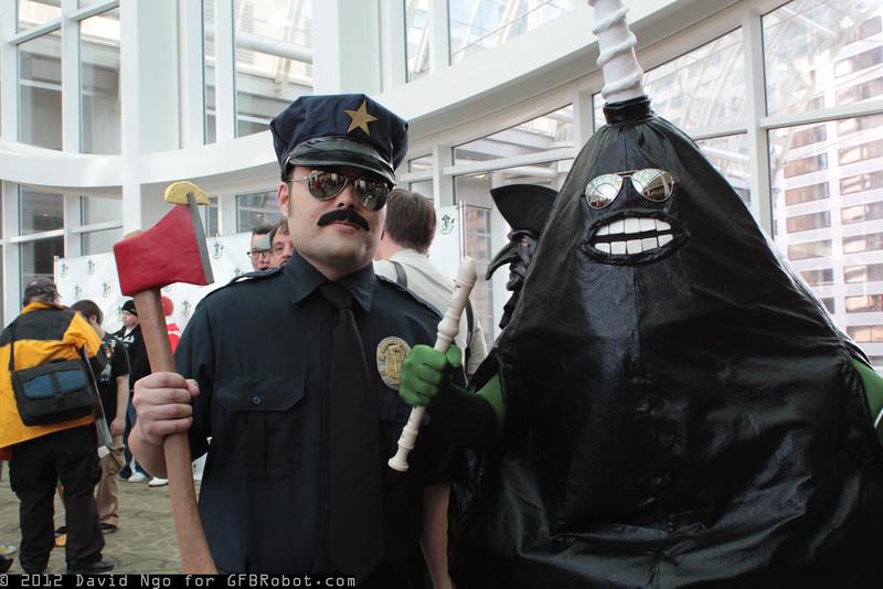 Axe Cop and Avocado Soldier