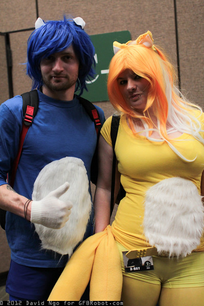 Sonic the Hedgehog and Tails