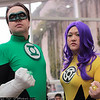 Green Lantern and Feena Sik