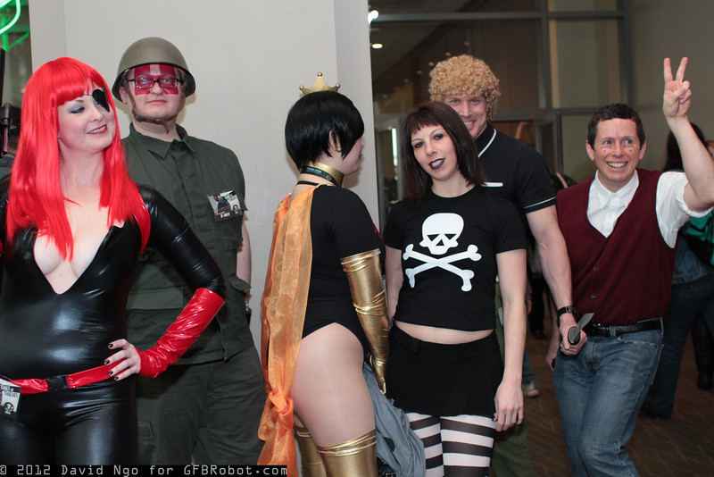 Molotov Cocktease, Sergeant Hatred, Dr. Mrs. the Monarch, Triana Orpheus, Brock Samson, and Dean Venture