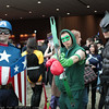 Captain America, Green Arrow, and Batman