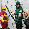 Speedy, Green Arrow, and Black Canary