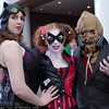 Catwoman, Harley Quinn, and Scarecrow